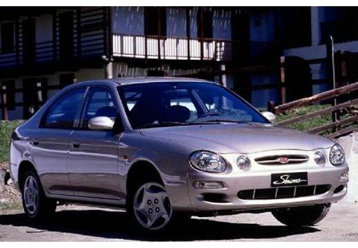 KIA Shuma I hatchback silver grey przedni prawy