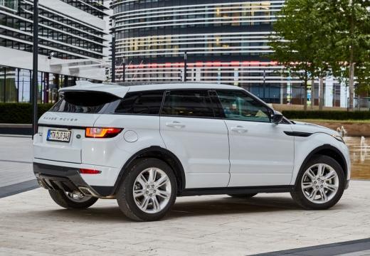 LAND ROVER Range Rover Evoque II kombi biały boczny prawy
