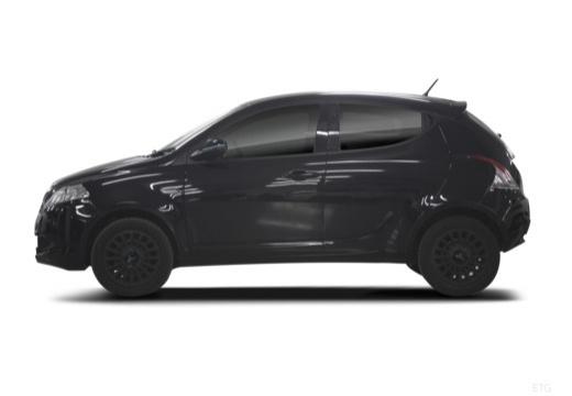 LANCIA Ypsilon III hatchback czarny boczny lewy