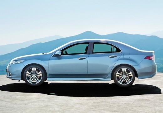 HONDA Accord sedan silver grey boczny lewy