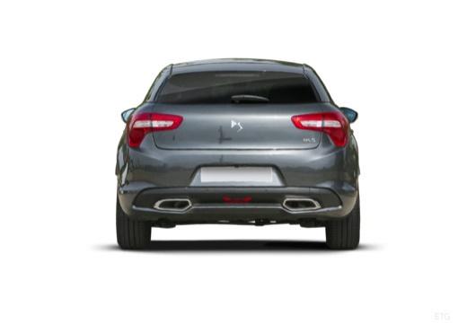 CITROEN DS5 II hatchback szary ciemny tylny