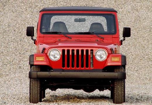 JEEP Wrangler II hardtop czerwony jasny przedni