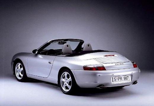 PORSCHE 911 Cabrio 996 kabriolet silver grey tylny lewy