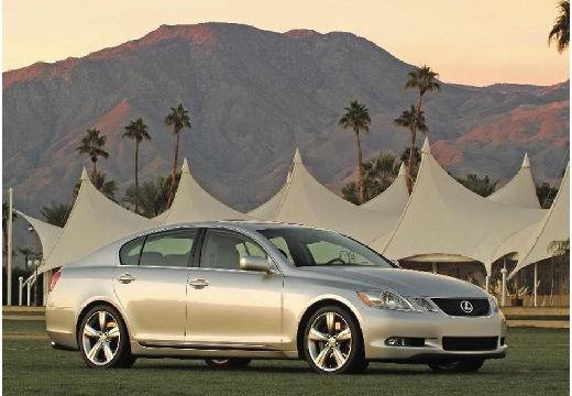 LEXUS GS sedan silver grey przedni prawy