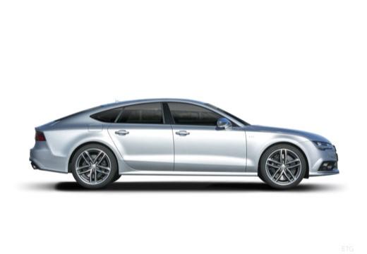 AUDI A7 Sportback II hatchback boczny prawy