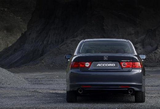 HONDA Accord V sedan szary ciemny tylny