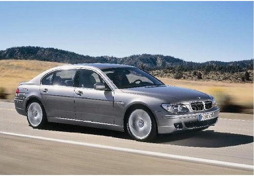 BMW Seria 7 E65 E66 II sedan silver grey przedni prawy