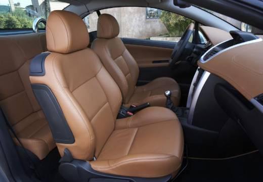 PEUGEOT 207 CC I kabriolet silver grey szczegółowe opcje
