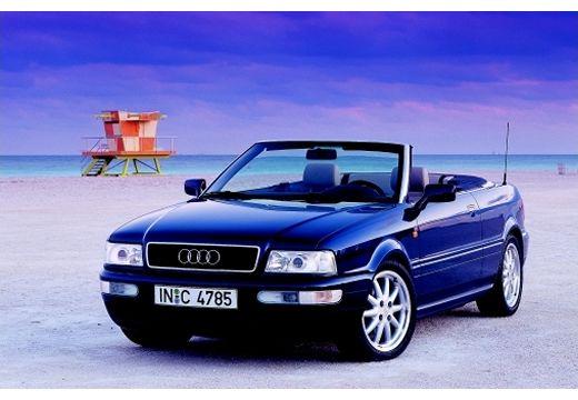 AUDI 80 kabriolet niebieski jasny przedni lewy