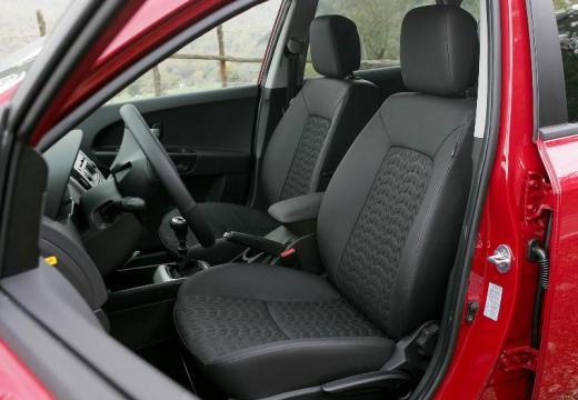 KIA Ceed I hatchback czerwony jasny wnętrze