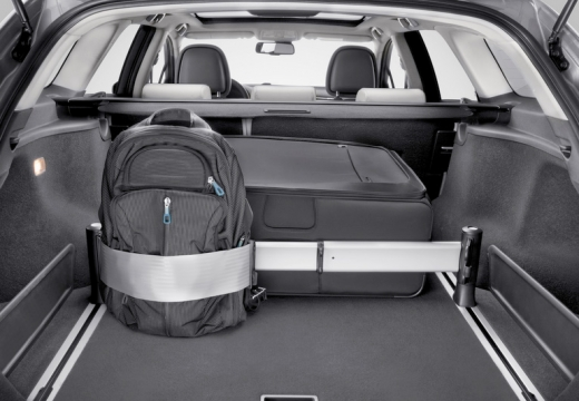 Toyota Avensis kombi przestrzeń załadunkowa
