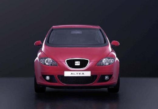 SEAT Altea hatchback czerwony jasny przedni