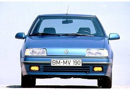 RENAULT R19 I hatchback niebieski jasny przedni