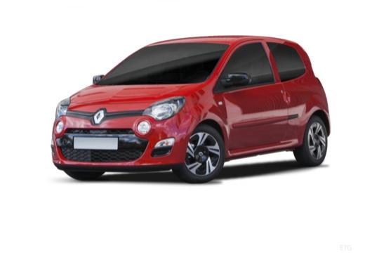 RENAULT Twingo V hatchback czerwony jasny przedni lewy