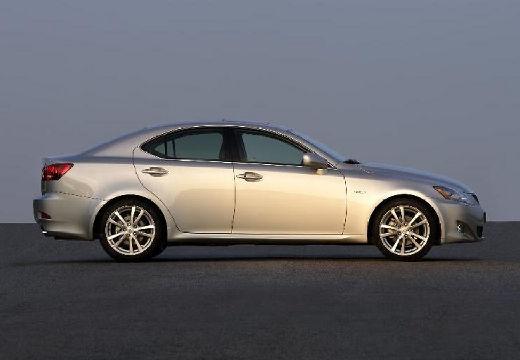 LEXUS IS II sedan silver grey boczny prawy