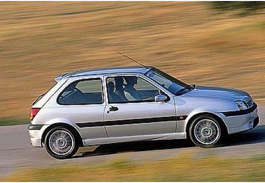 FORD Fiesta IV hatchback silver grey boczny prawy