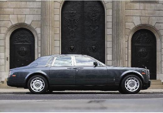 ROLLS-ROYCE Phantom I sedan silver grey boczny prawy