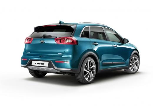 KIA Niro hatchback niebieski jasny tylny prawy