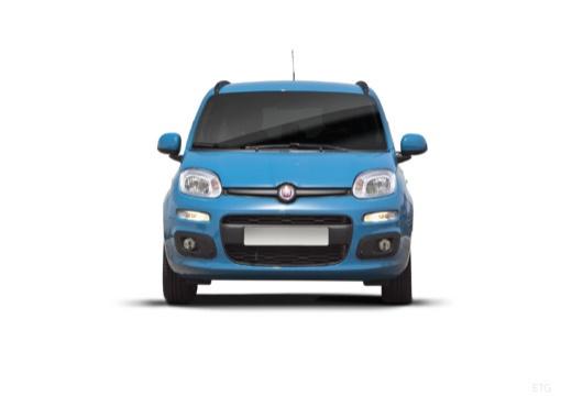 FIAT Panda III hatchback niebieski jasny przedni