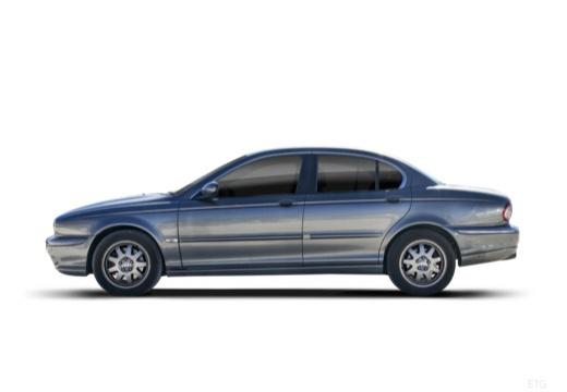 JAGUAR X-Type I sedan boczny lewy