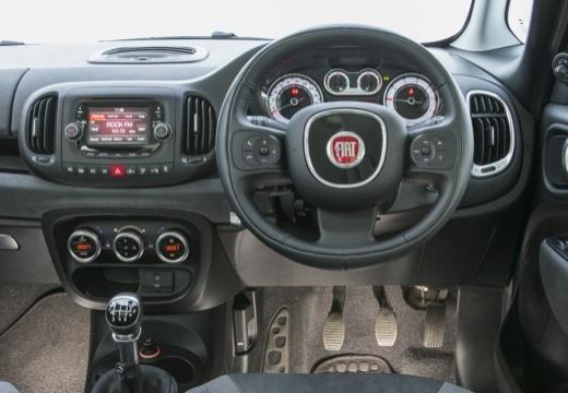 FIAT 500 L Living kombi silver grey tablica rozdzielcza