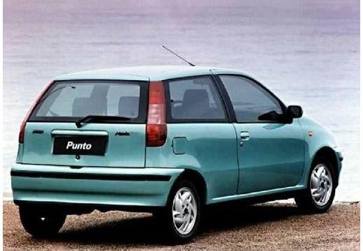 FIAT Punto I hatchback zielony jasny tylny prawy