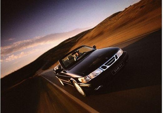 SAAB 9-3 kabriolet czarny przedni prawy