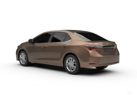 Toyota Corolla III sedan tylny lewy