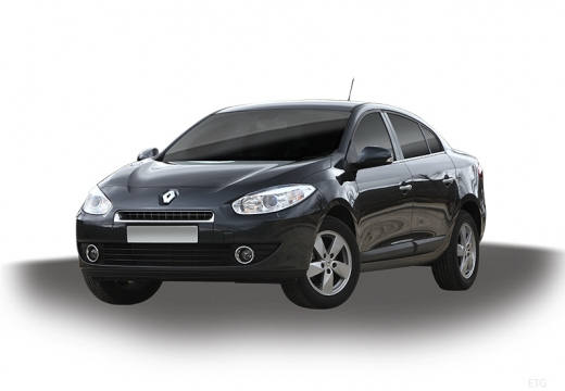 RENAULT Fluence I sedan czarny