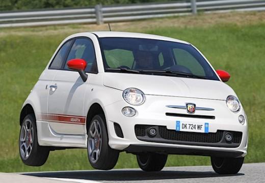 FIAT 500 I hatchback biały przedni prawy