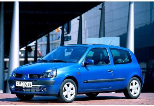 RENAULT Clio II II hatchback niebieski jasny przedni lewy