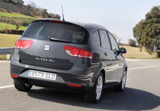 SEAT Altea XL II hatchback szary ciemny tylny prawy