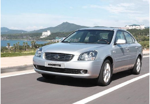 KIA Magentis sedan silver grey przedni lewy