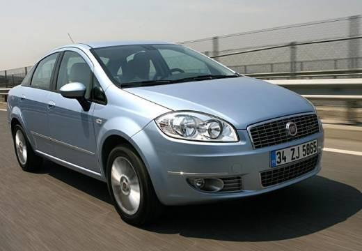 FIAT Linea sedan niebieski jasny przedni prawy