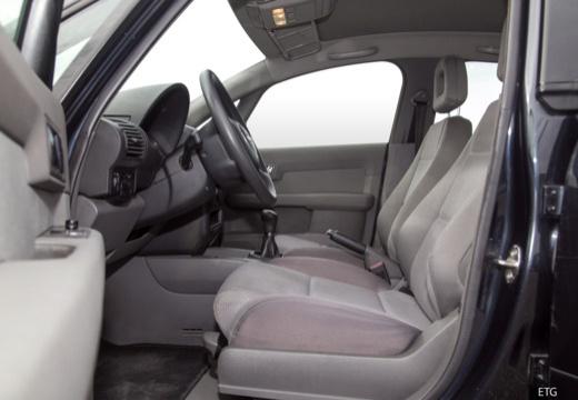 AUDI A2 hatchback wnętrze
