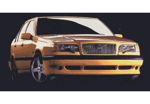 VOLVO 850 sedan żółty przedni prawy