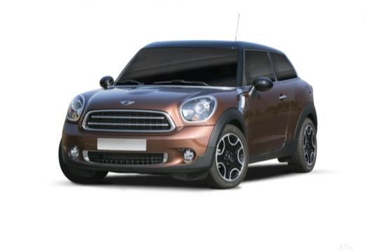 MINI [BMW] Paceman hatchback brązowy przedni lewy
