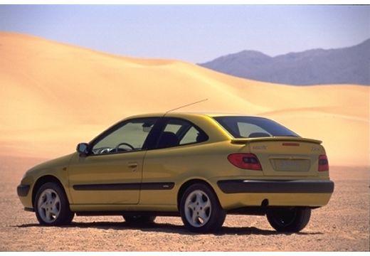 CITROEN Xsara I hatchback żółty tylny lewy