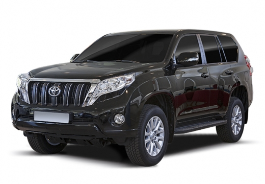 Toyota Land Cruiser kombi czarny