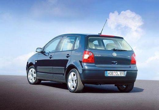 VOLKSWAGEN Polo IV I hatchback czarny tylny lewy
