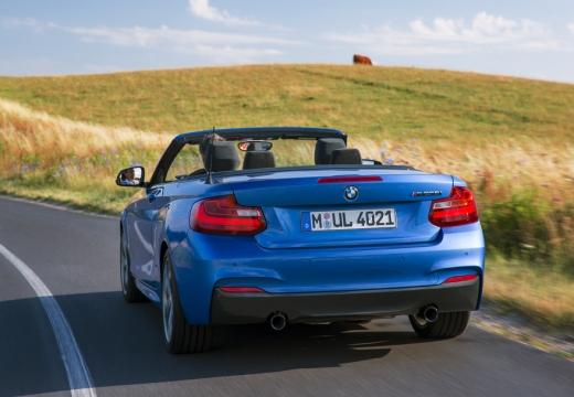 BMW Seria 2 Cabrio F23 I kabriolet niebieski jasny tylny
