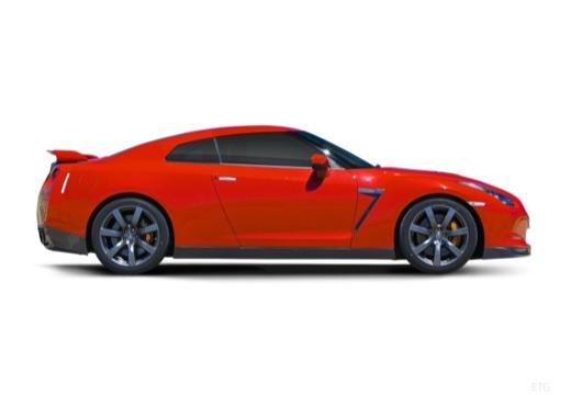 NISSAN GT-R I coupe boczny prawy