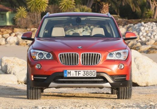 BMW X1 X 1 E84 II kombi pomarańczowy przedni