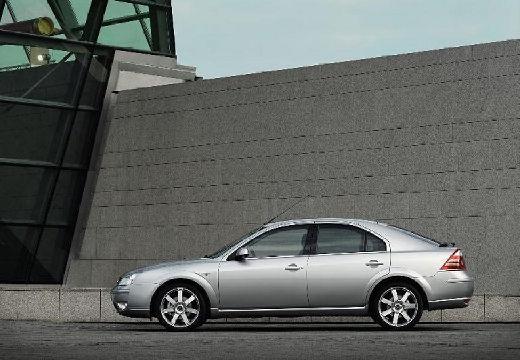 FORD Mondeo hatchback silver grey boczny lewy
