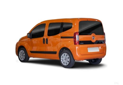 FIAT Fiorino Qubo kombi pomarańczowy tylny lewy