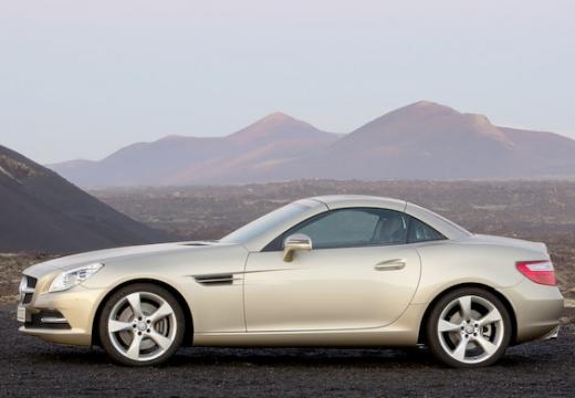 MERCEDES-BENZ Klasa SLK SLK R 172 roadster beige boczny lewy