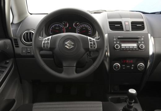 SUZUKI SX4 II hatchback niebieski jasny tablica rozdzielcza