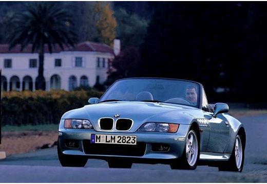 BMW Z3 roadster zielony jasny przedni lewy