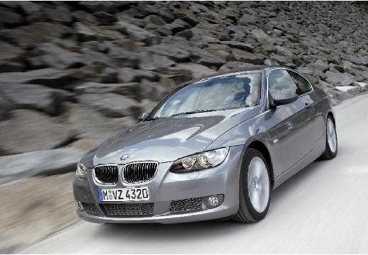 BMW Seria 3 E92 I coupe silver grey przedni lewy