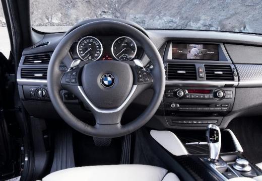 BMW X6 X 6 E71 hatchback szary ciemny tablica rozdzielcza